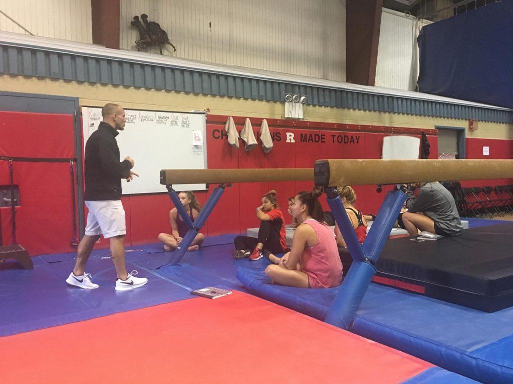 Ryan at Rutgers Gymnastics
